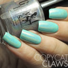 Swatch courtesy of Copycat Claws | GIRLY BITS COSMETICS Hocus Pocus over Mint To Be
