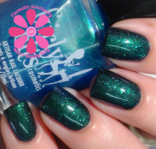 Swatch courtesy of Cosmetic Sanctuary | GIRLY BITS COSMETICS Cosmic Ocean