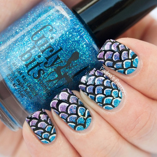 Swatch courtesy of Paulina's Passions | GIRLY BITS COSMETICS Off The Scale