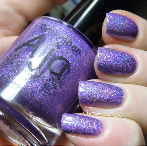 Swatch courtesy of Pointless Cafe | GIRLY BITS COSMETICS Remember Aja