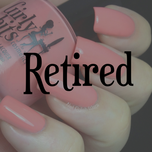 GIRLY BITS COSMETICS Lover's Coral | Swatch courtesy of Nail Polish Wars