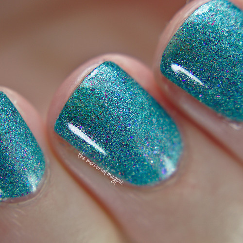 Swatch by The Mercurial Magpie | GIRLY BITS COSMETICS Get Weaponized