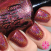 Swatch by Cosmetic Sanctuary   GIRLY BITS COSMETICS Auld Langs Wyne