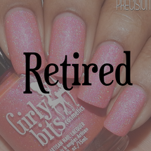 Swatch courtesy of Polished to Precision | GIRLY BITS COSMETICS Our Lips Are Sealed