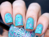 Swatch courtesy of Globe & Nail | GIRLY BITS COSMETICS Conga