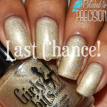 Swatch courtesy of Polished to Precision | GIRLY BITS COSMETICS Walk Like An Egyptian