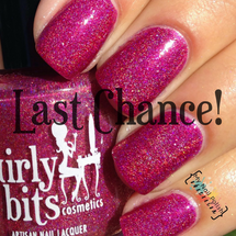 Photo credit: My Nail Polish Obsession | GIRLY BITS COSMETICS Too Hot For Pants