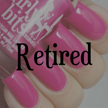 Swatch courtesy of @lacquerloon | GIRLY BITS COSMETICS Don't Paddle Break A Nail
