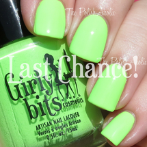 Swatch courtesy of The PolishAholic | GIRLY BITS COSMETICS It's Hoop To Be Square