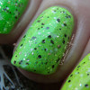 Swatch courtesy of Pointless Cafe | GIRLY BITS COSMETICS It's Hoop To Be Square & You Spin Me 'Round