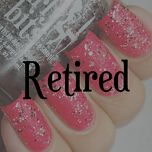 Swatch courtesy of @lacquerloon | GIRLY BITS COSMETICS You Spin Me Round