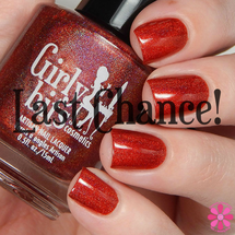 It Was The Fireball (2015) by Girly Bits Cosmetics