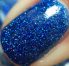 Swatch courtesy of My Nail Polish Obsession | GIRLY BITS COSMETICS Blue Ribbon Cankles