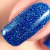 Swatch courtesy of Polished & Shined | GIRLY BITS COSMETICS Blue Ribbon Cankles