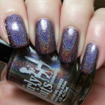 Swatch courtesy of Pointless Cafe | GIRLY BITS COSMETICS Amok! Amok! Amok!