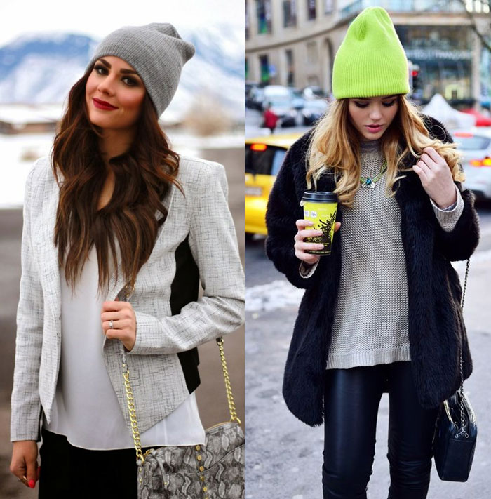 Styling With A Beanie - Blank Clothing