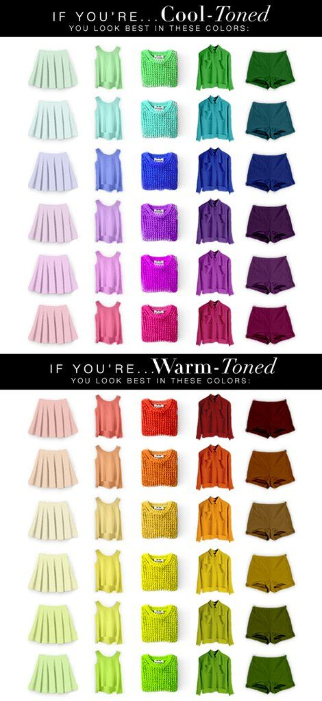 Colours To Suit Your Skin Tone Blank Clothing