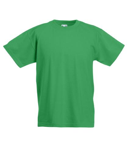 kids plain green t shirts