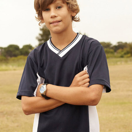Kids Plain Soccer Jersey T-Shirt