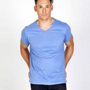 mens v-neck marl tshirts | wholesale bulk