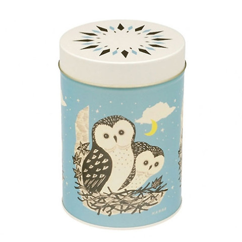 JOHN HANNA | owl storage tin | home ware
