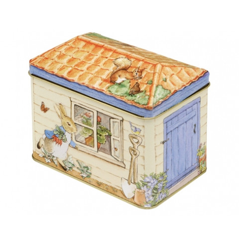 PETER RABBIT | shed storage tin