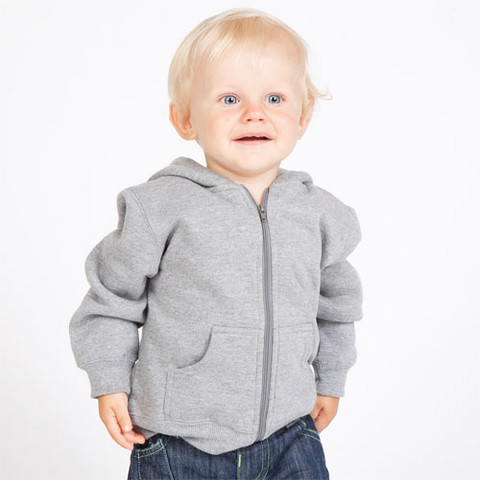 Baby Zip Thru Hoodies Plain Cotton Rich Buy Online Bulk
