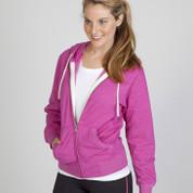 RIPLEY | heather ladies hoodie jacket