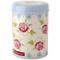 Tea Coffee Sugar Cannister Rose and Bee