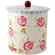 ROSE & BEE | biscuit barrel storage tin