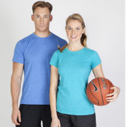 plain active wear heather tshirts