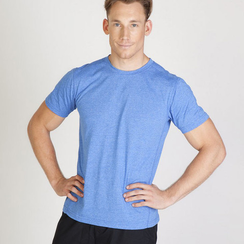 wholesale bulk plain heather tshirt