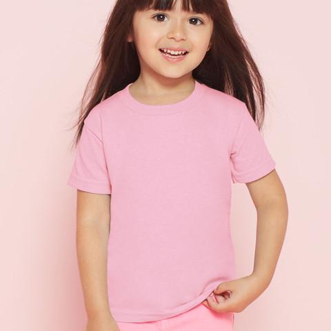 light pink | plain toddler 100% cotton tshirts