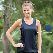 plain sports ladies workout singlets | micro dry