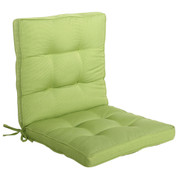 FIJI | midback outdoor replacement cushion seat | kiwi green