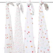 100% cotton swaddle muslin wraps | sycamore tree