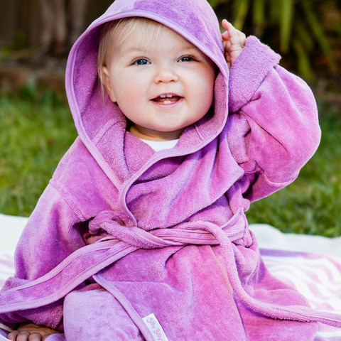 100% organic cotton baby bathrobes | silly billyz