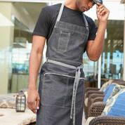 urban plain denim full bib aprons online | blank clothing