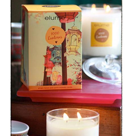 Elume 1000 Lanterns Jar Candles