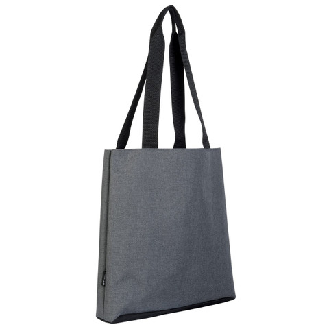 buy bulk canvas-like bag tote | ash grey