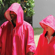 wholesale foldaway poncho with hood