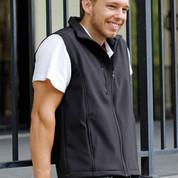 plain soft shell vests | unisex