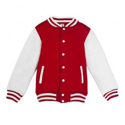 Kids Plain Varsity Jacket Children Fashion Style Baseball Letterman Basketball Ebay
