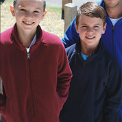 kids plain polar fleece jacket | wholesale online
