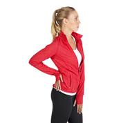 plain stretchy heather jackets online | gym & yoga