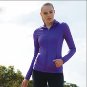 ladies plain stretch yoga jackets online