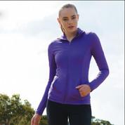 ladies plain stretch yoga jackets online