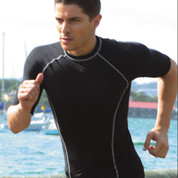 wholesale mens compression tshirt | short sleeves