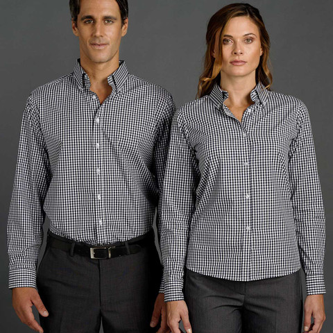 long sleeve gingham shirts online | wholesale supplier