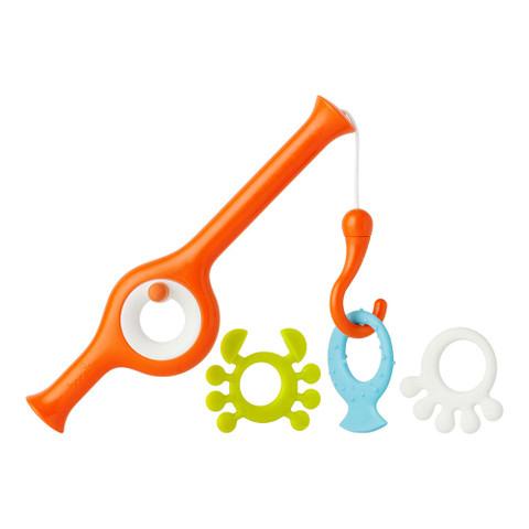 CAST | Boon fishing pole kids bath time toys